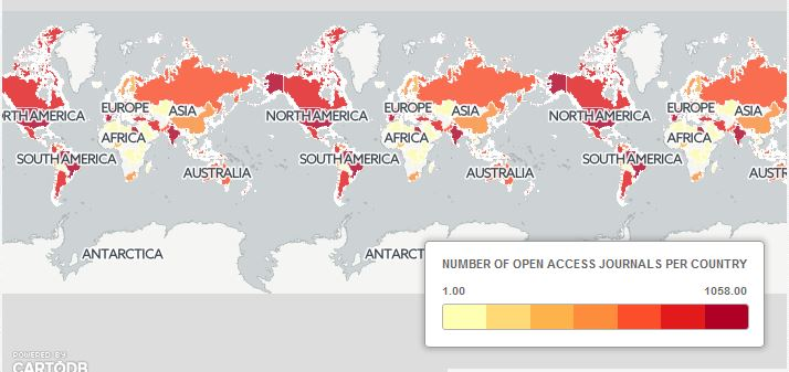 Map Open Access Journals